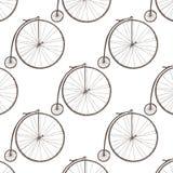 Dużego koła bicykl ilustracja wektor