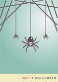 Dużego oka sztuki Halloweenowy tło eps10 Obrazy Stock