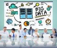 Dużego przechowywania danych technologii bazy danych Online pojęcie Fotografia Royalty Free