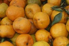 Dużego soku tangerine żółta tekstura obrazy stock
