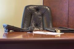 Dużego szefa krzesło Zdjęcie Royalty Free