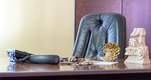 Dużego szefa krzesło Zdjęcie Stock