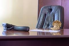 Dużego szefa krzesło Obrazy Royalty Free