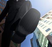 Dużego szefa Nożny kroczenie - puszek zdjęcie royalty free