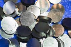 Dużej precyzi części stalowa automobilowa produkcja CNC machina Obrazy Stock