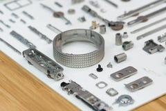 Dużej precyzi części stalowa automobilowa produkcja CNC machina Obrazy Royalty Free
