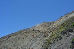 Dużej Sura centrali wybrzeża Kalifornia wspaniałej linii brzegowej zatoczki borowinowy obruszenie Fotografia Royalty Free