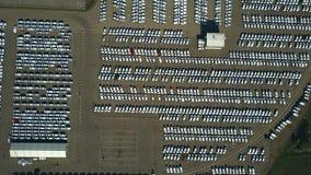 Dużej wysokości anteny wierzchołka puszka widok producenta samochodów magazyn Obrazy Stock
