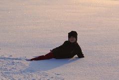 Dużo śnieg zdjęcia royalty free
