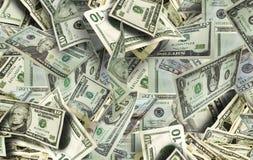 dużo pieniędzy Zdjęcia Stock