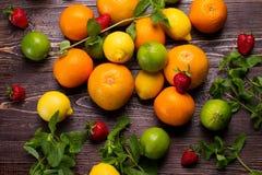 Dużo różne owoc fotografia stock