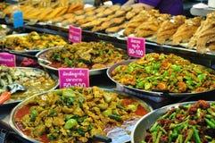 Dużo typ jedzący Tajlandzki kurs fotografia royalty free