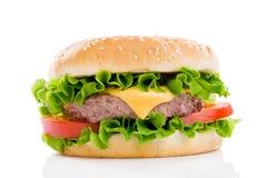 duży świeży hamburger zdjęcie royalty free