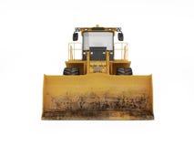 Duży żółty buldożer Zdjęcie Royalty Free