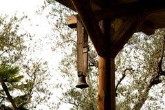 Duży żelazny dzwon Fotografia Royalty Free