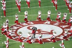 Duży Al I uniwersytet Alabama Milion Dolarowych zespołów Zdjęcie Stock