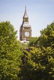 duży ben England London Zdjęcie Stock