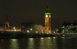 duży Ben noc Obraz Royalty Free