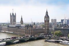 duży Ben pałac London Westminster zdjęcia royalty free