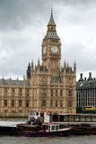 duży Ben pałac Westminster Obrazy Royalty Free