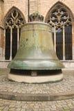 Duży brązowy dzwon Fotografia Stock