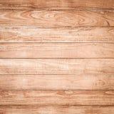 Duży Brown deski ściany tekstury drewniany tło Obrazy Royalty Free