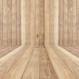 Duży brown podłoga drewno zaszaluje tekstury tło zdjęcia stock