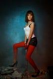 duży brunetki młota metal Zdjęcia Royalty Free