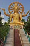 Duży Buddha Plai Laem centre, Samui, Tajlandia fotografia stock