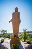 Duży Buddha przy Buddyjską świątynią w Tajlandia Zdjęcie Stock