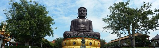 Duży Buddha w Tajwańskim Baguashan Obraz Stock