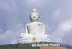 Duży Buddha zabytek na wyspie Phuket w Tajlandia Zdjęcie Stock