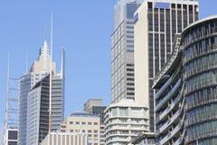 duży budynków miasta szczegół nowożytny Obraz Royalty Free