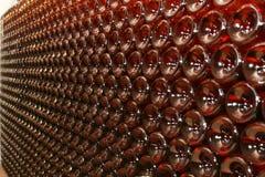 duży butelek ściany wino Zdjęcie Royalty Free
