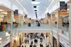 Duży centrum handlowe Zdjęcie Stock
