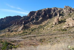 Duży chyłu park narodowy, Zachodni Teksas. Zdjęcie Royalty Free