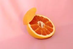 Duży Czerwony Grapefruitowy Fotografia Royalty Free
