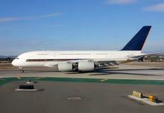 Duży dżetowy samolot Fotografia Royalty Free
