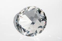 Duży dekoracyjny diament fotografia stock