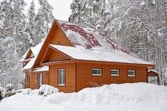 duży domowy drewniany fotografia royalty free