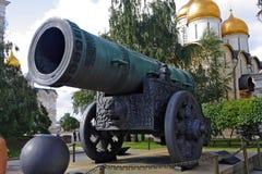 duży działo Kremlin Moscow Obrazy Royalty Free