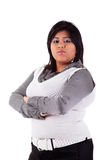duży dziewczyny latin portret zdjęcie stock