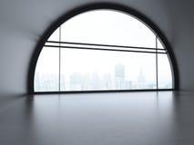 Duży futurystyczny biuro zdjęcie royalty free