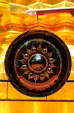 duży gong zdjęcie stock