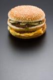 Duży hamburger Zdjęcie Stock
