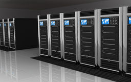 duży izbowy serwer Fotografia Stock