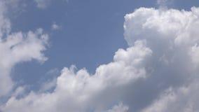 Duży Kłębi się chmura czasu upływu tło zdjęcie wideo