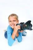 duży kamery dziewczyny obiektyw obrazy royalty free