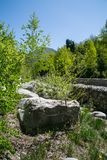duży kamień Zdjęcie Stock