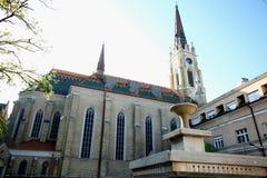 Duży katedralny Katolicka Porta strona duży katedralny Ka Fotografia Stock